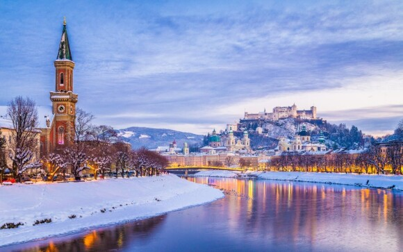 Projděte si historické centrum Salzburgu