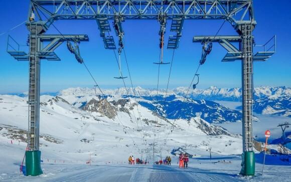 Užijte si lyžování na ledovci Kitzsteinhorn v Kaprunu