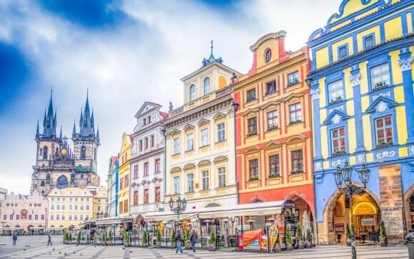 Objavte všetky pamätihodnosti stovežatej Prahy