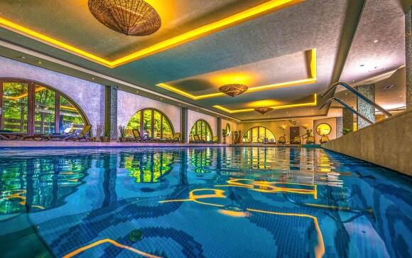 Bazén, Wellness má neuvěřitelnou rozlohu 1 000 m²