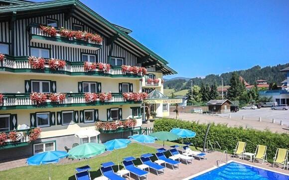 Hotel Unterberghof **** stojí v rakúskych Alpách