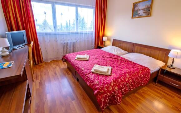 Oddýchnete si v komfortne zariadených izbách