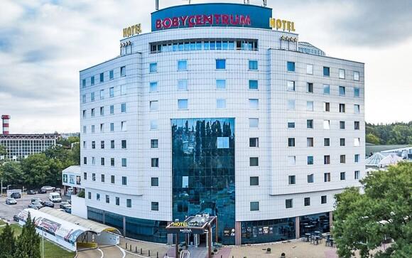 Užite si pobyt v brnenskom Hoteli Bobycentrum ****