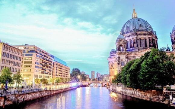 Berlín je krásné město plné úžasných památek