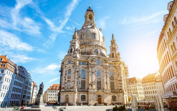 Frauenkirche, památky Drážďany