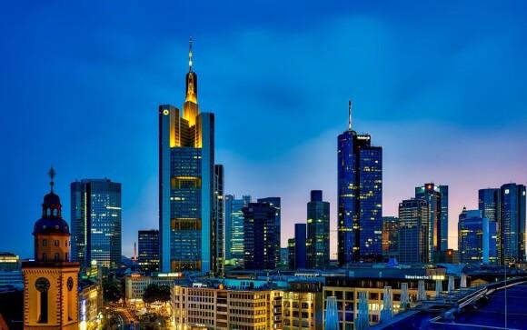Frankfurt nad Mohanom je krásne mesto
