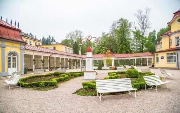 Kúpele Libverda sa pýšia typickou kolonádou