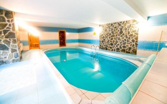 Vykúpte sa vo vnútornom bazéne