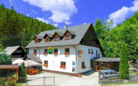 Horský hotel Eva Mária, Horná Maríková, Javorníky