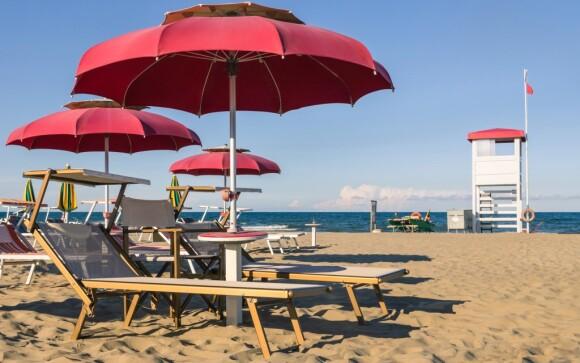 Užite si slnečné pláže pri Rimini