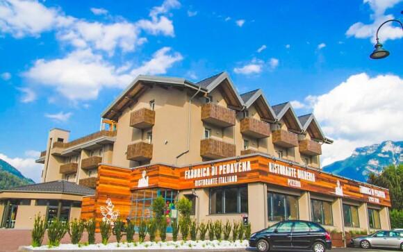 Hotel stojí ve skvělé oblasti