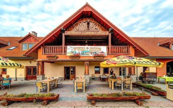 Hotel Farma Vysoká *** leží blízko Jizerských hor