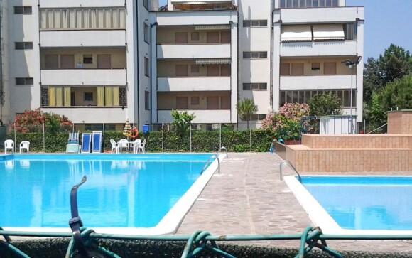 Residence Mosaico Piscina má vlastní bazén