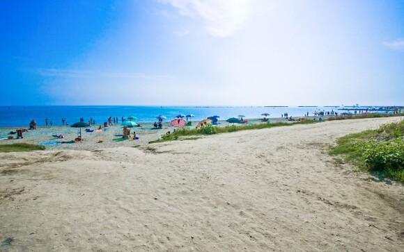 Hotel Le Dune *** stojí přímo na pláži