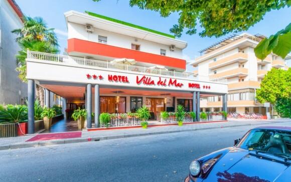 Hotel Villa del Mar *** stojí v oblíbeném Bibione