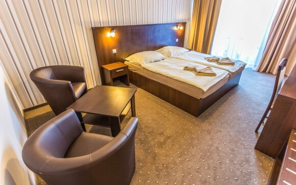Hotel disponuje novými modernými izbami