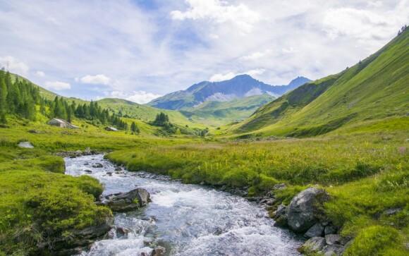 Pobyt v italských Alpách u Passo Tonale