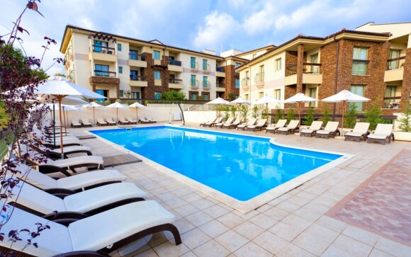 Venkovní bazén Blue Waves Resort **** Krk Chorvatsko