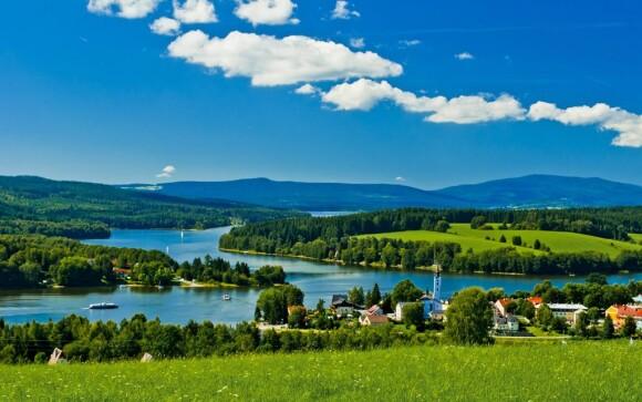 Rodinná dovolenka pri Lipne, južné Čechy