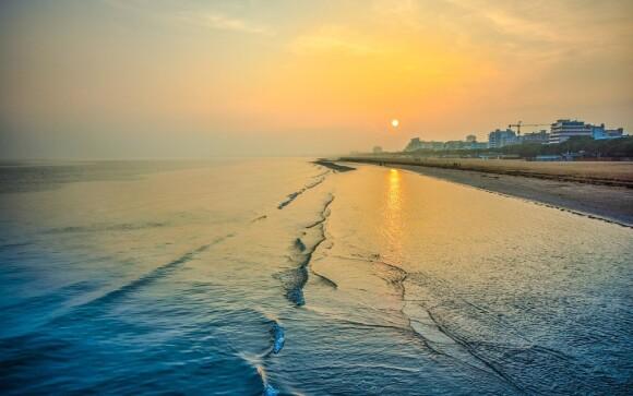 Pláž je vzdálená pouze 300 metrů
