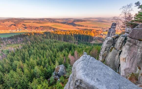Adršpašské skaly, príroda, panoráma, turistika