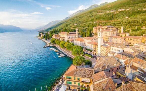 Dovolená u jezera Lago di Garda, Itálie