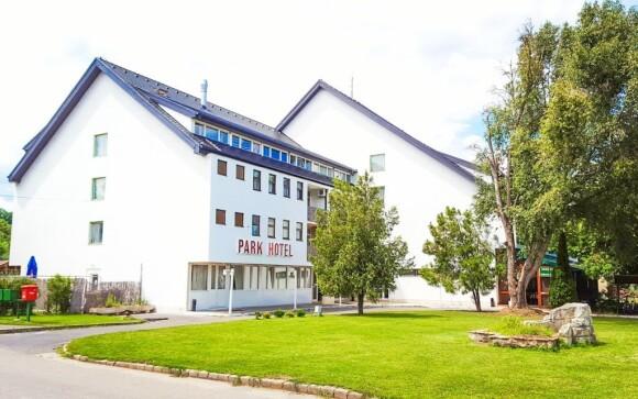 Štýlový Park Hotel *** 15 minút od kúpeľov Miskolc Tapolca