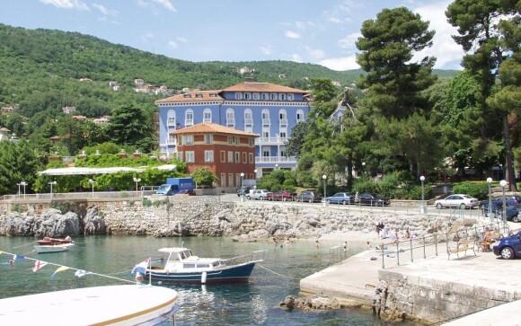 Hotel Park **** Lovran u Jaderského moře Chorvatsko