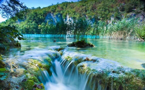 Národní park Plitvická jezera Chorvatsko