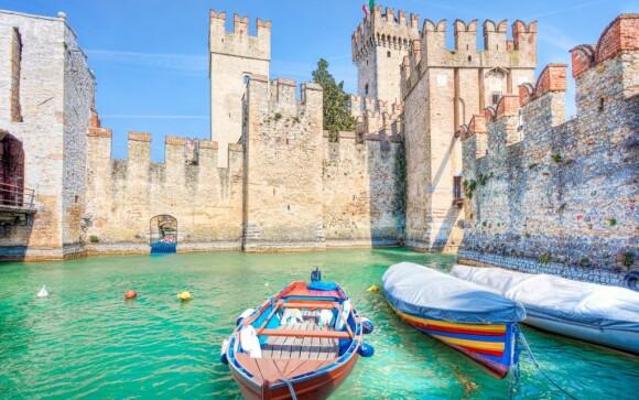 Jezero Lago di Garda, Itálie