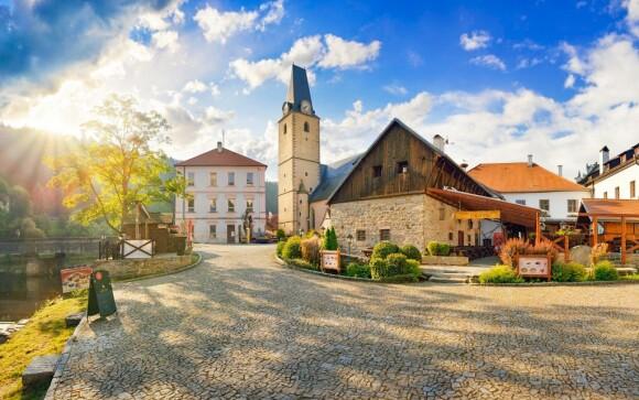 Hotel u Martina *** priamo pod hradom Rožmberk Južné Čechy