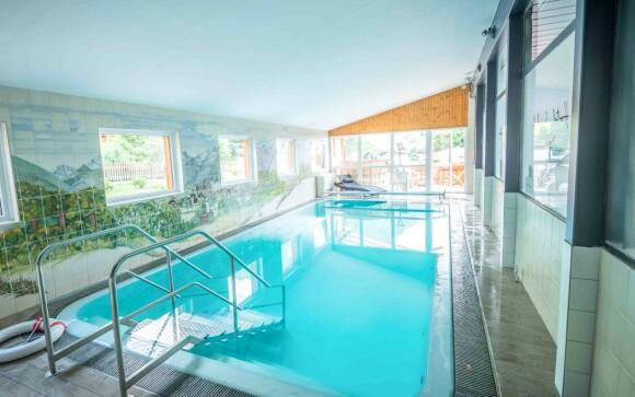 Vnitřní bazén Hotel Sonnhof Rauris *** Vysoké Taury Rakousko