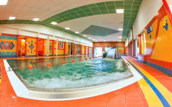 Bazén v RelaxCentru Sepetná, Beskydy