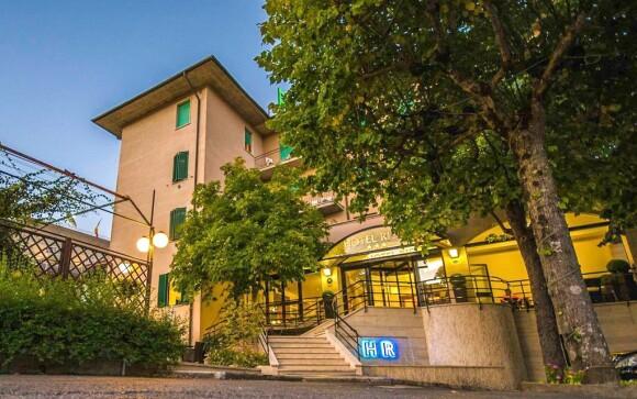 Hotel Villa Ricci***, Chianciano Terme, Toskánsko, Taliansko