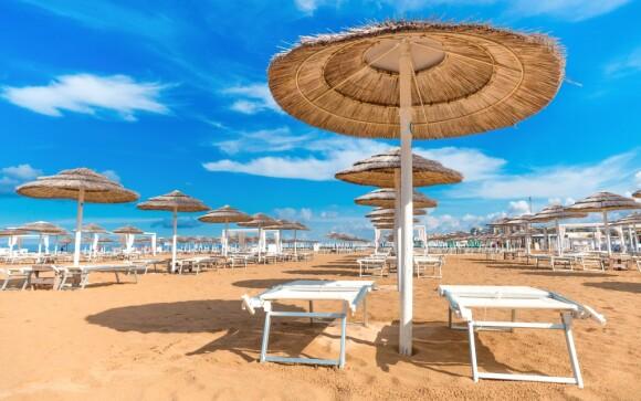 Hotel Europa *** 5 minut od moře, nedaleko Rimini, Itálie