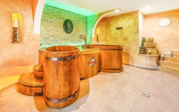 Sleva na pivní koupel ve wellness, Hotel Beskyd, Beskydy