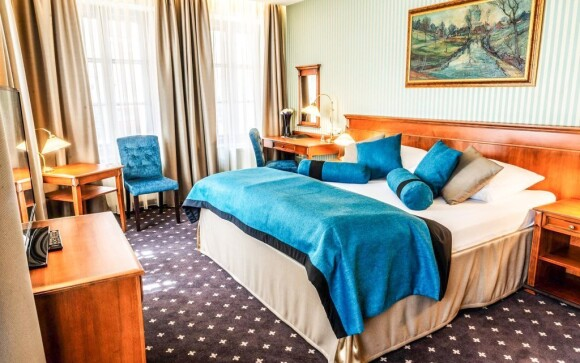 Nadstandardně zařízené pokoje Hotel Morris Česká Lípa ****