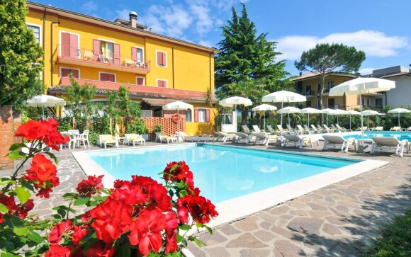 La Quiete Park Hotel ***, rodinný hotel u Lago di Garda