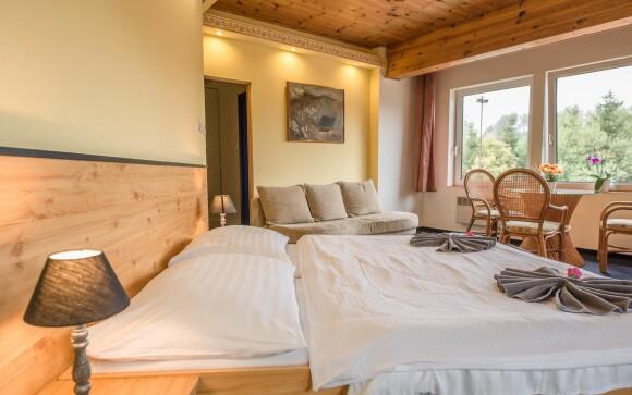 Komfortní pokoje, Hotel Bečva, Beskydy, Horní Bečva