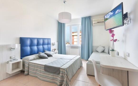 Komfortně zařízení pokoje, Hotel Nuovo Tirreno ***, Itálie