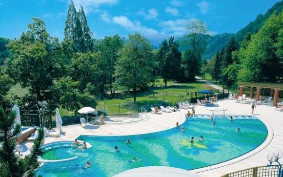 Vonkajší bazén, Hotel Zdravilišče Laško ****, Slovinsko