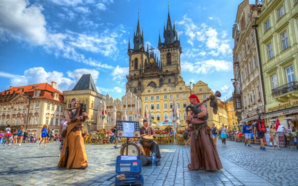 Praha - to nejsou jen památky, ale i zábava