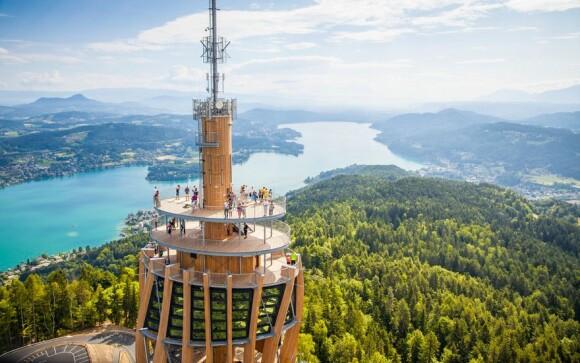 Rozhledna u Wörthersee, Korutanská jezera, Rakousko
