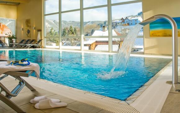 Wellness s bazénom, Naturparkhotel Lambrechterhof ****
