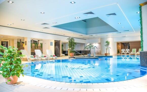 Bohaté wellness s bazénmi, Hotel Palace ****, Hévíz