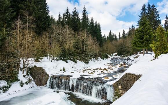 Užite si skvelú zimnú dovolenku v Krkonošiach