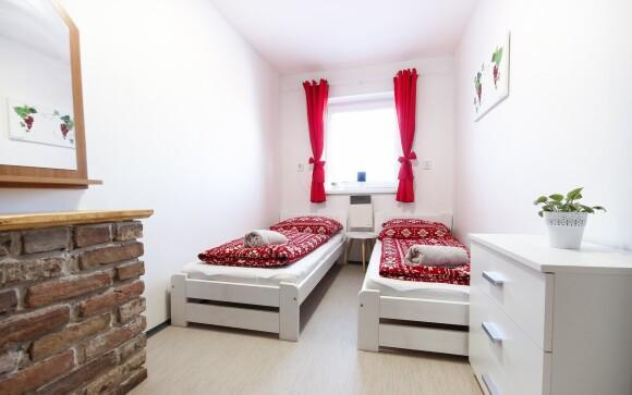 Ubytujte se v pohodlném dvoulůžkovém apartmánu