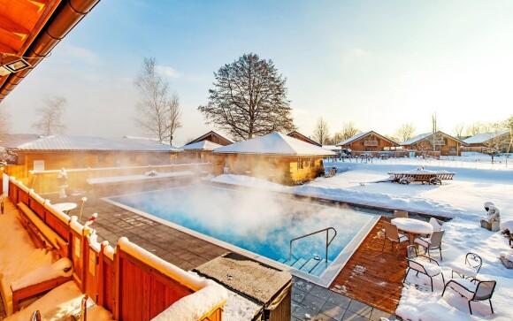 Venkovní bazén, Hotel Rupertihof ***, Německo