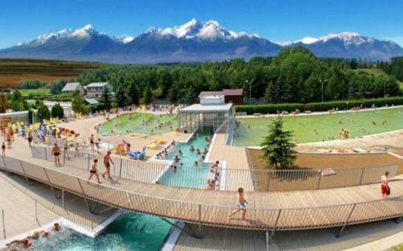 Vrbov a Vysoké Tatry v moderním penzionu s 50% slevou do termálního aquaparku
