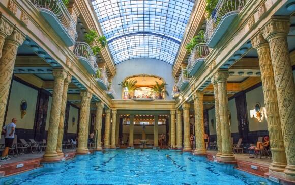 Budapešť je plná lázní, lázně Gellert